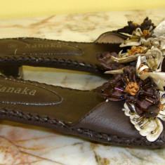 Sandale dama marca Xanaka marimea 38 (Q58_1), Culoare: Maro
