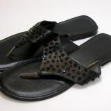 Papuci dama marca marimea 39 (P575_1 ), Culoare: Negru