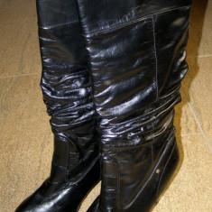 Cizme de dama marca Barisal marimea 40 (E15_1) - Cizma dama, Culoare: Negru, Negru