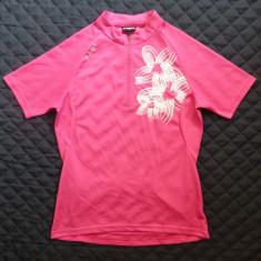 Tricou ciclism dame X-Fact model floral; marime 36, vezi dimensiuni; ca nou - Echipament Ciclism, Tricouri