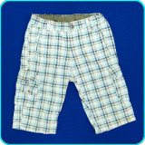 Pantaloni scurti, bumbac, talia reglabila, H&M → baieti | 6—7 ani | 116—122 cm
