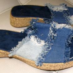 Papuci dama marca Euroswale marimea 38 (P52_1), Culoare: Din imagine