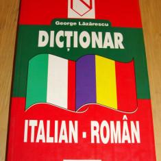 Dictionar ITALIAN - ROMAN / George Lazarescu niculescu
