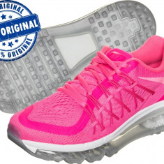 Adidasi dama Nike Air Max 2015 - adidasi originali la cutie - running - alergare, Culoare: Roz, Marime: 37.5, 38, Textil