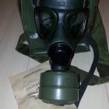Masca de gaze model 1974 cu geanta noua (stoc de razboi) completa impecabila