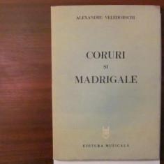 "PVM - Alexandru VELEHORSCHI ""Coruri si Madrigale"" 1983"