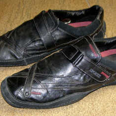 Adidas marca Xadox e.partial piele marimea 46 (E56_1) - Adidasi barbati, Culoare: Negru