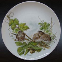 TABLOU / FARFURIE DECORATIVA DIN PORTELAN KAISER
