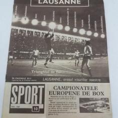 REVISTA SPORT NR. 10/ 1969 - Revista barbati