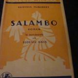 Flaubert - Salambo - interbelica - Carte veche