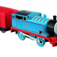 Jucarie Thomas & Friends Trackmaster Motorized Railway Thomas Engine With Wagon - Trenulet