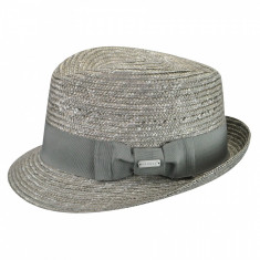 Best Price 16466456 - Palarie Kangol Wheat Braid Arnold Gri(Masura : L) - Palarie Dama