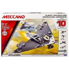 Jucarie Meccano Flight Model Set 10-Piece - Jocuri Seturi constructie