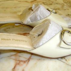 Pantofi de dama marca Hush Puppies interior exterior piele marimea 41 (Q31_1) - Sabot dama, Culoare: Din imagine
