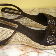 Sandale dama marca - sfoara marimea 39 (Q88_1), Culoare: Din imagine
