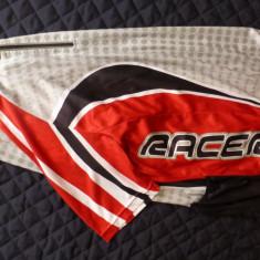 Tricou ciclism Crane Racer TechTex Speed polyester Coolmax; M unisex; ca nou - Echipament Ciclism