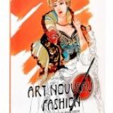 Art Nouveau Fashion Colouring Book. Carte de colorat pentru adulti