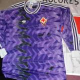 Bluza fotbal adidas clasica Fiorentina Italia, L, Din imagine, De club