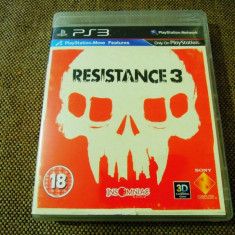 Joc Resistance 3, exclusiv PS3, original, alte sute de jocuri! - Jocuri PS3 Sony, Shooting, 16+, Single player