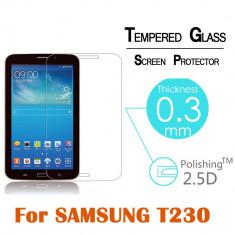Folie sticla securizata Tempered Glass ptr. Samsung Galaxy Tab 4 7.0 T230/T231 - Folie protectie tableta, 7 inch