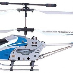 PROMOTIE! ELICOPTER RADIOCOMANDAT CA UNUL REAL, TELECOMANDA, ZBOR 3D, LED NOCTURN. - Elicopter de jucarie, Plastic, Unisex