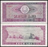 2. ROMANIA, 10 LEI 1966, UNC