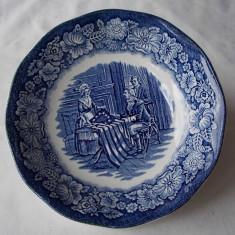 "4 FARFURII ""LIBERTY BLUE"" - Portelan"