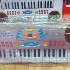 Orga copii cu microfon cu 37 clape 3 octave