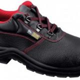Pantofi de protecție LIVIU S3 - Pantofi barbat, Marime: 36, 37, 38, 39, 40, 41, 42, 43, 44, 45, 46, 47, 48, Culoare: Negru, Piele naturala