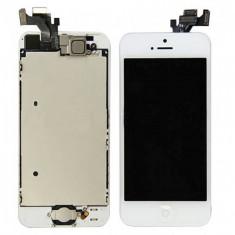 LCD ECRAN TOUCHSCREEN PENTRU IPHONE 5  ALB SI NEGRU