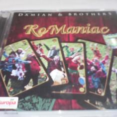 CD DUBLU DISC ROMANIAC DAMIAN & BROTHERS 2 CD ORIGINAL RARITATE!!! - Muzica Lautareasca