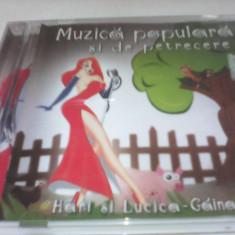 CD MUZICA POPULARA DE PETRECERE ORIGINAL