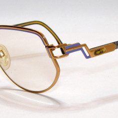 Rame ochelari vedere vintage Cazal 97/354 61_13 120(01), Femei, Metal, Rama intreaga, Fashion