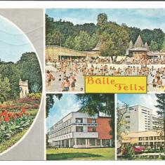 @carte postala(cod1199/76)-ORADEA-Baile Felix-Strandul - Carte Postala Crisana dupa 1918, Circulata, Fotografie