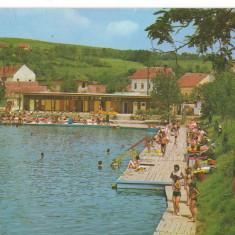 CPI (B7047) CARTE POSTALA - OCNA SIBIULUI. STRANDUL - Carte Postala Transilvania dupa 1918, Circulata, Fotografie