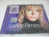 CD LEANN RIMES - I NEED YOU ORIGINAL