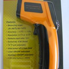 Termometru Laser IR Infrarosu Digital Non-Contact pistol GM320 -50 / +380 grade