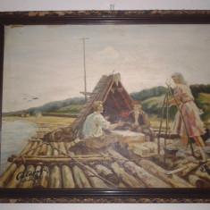 VECHI TABLOU ULEI - LEMN-SEMNAT