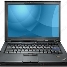 LAPTOP LENOVO THINKPA T400 Core2Duo P8400 2.26Ghz/2GB/160GB+ALIMENTATOR/GARANTIE, Diagonala ecran: 15, Intel Core 2 Duo