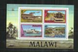 V 14 -  VAPOARE  -  MALAWI  -  BLOC  NESTAMPILAT
