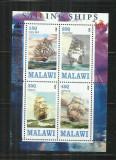 V  36 -  VAPOARE -  MALAWI   -   BLOC    NESTAMPILAT