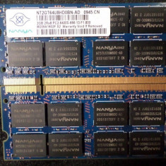 2Gb SODIMM DDR2 6400, NANYA - Memorie RAM Corsair, 4 GB, 800 mhz, Dual channel