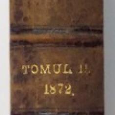 BULETINUL HOTARARILOR CURTII DE CASATIE DATE IN MATERIE CIVILE, TOMUL XI, NR.1: IANUARIE 1872, 1873