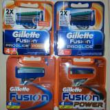 Rezerve Gillette Fusion,Fusion power,Proglide,Proglide Power set 4 buc