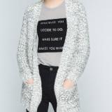 Cardigan Vero Moda - 10133769 alb - negru