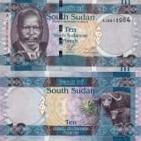 SUDANUL DE SUD 10 pounds 2011 UNC!!!
