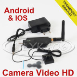 Camera Video WiFi in Nasture MicroCamera de telefon pt la SmartPHONE Android IOS - Camera spion