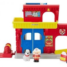 Jucarie Fisher Price Little People Fire Station - Vehicul