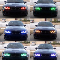 NOU ! Kit Angel Eyes Multi-Color BMW E36 E46 E39 E38 Seria 3 Seria 5 7