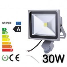 Proiector led 30w cu senzor miscare, proiectoare led lumina alb rece 30 w senzor - Corp de iluminat